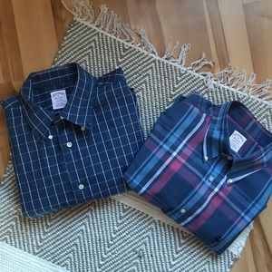 Brooks brothers dress shirts size XL lot of 2